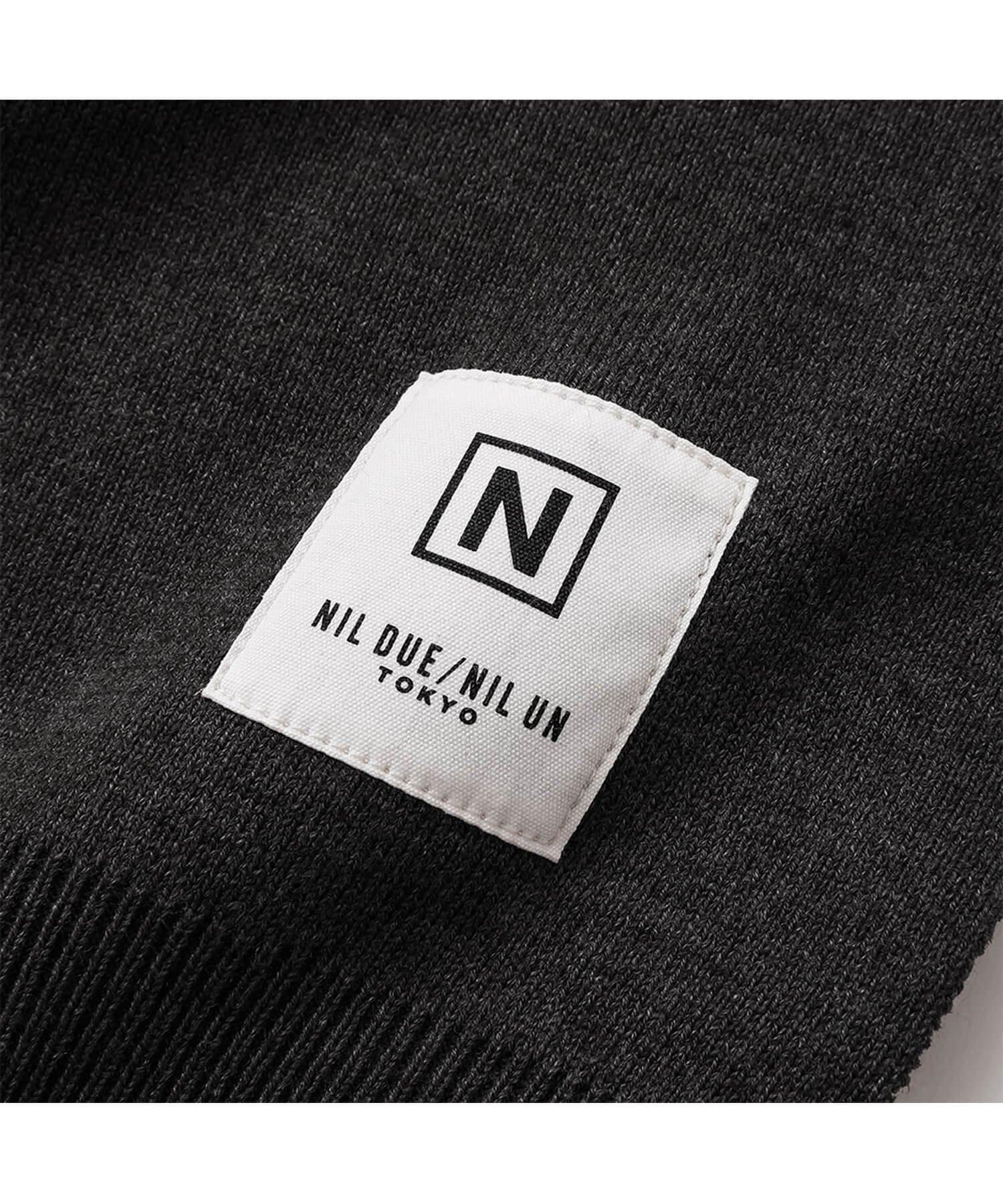 NIL DUE / NIL UN TOKYO / ニル デュエ / ニル アン トーキョー | RIB KNIT LOUNGE SET (BLACK) 商品画像5