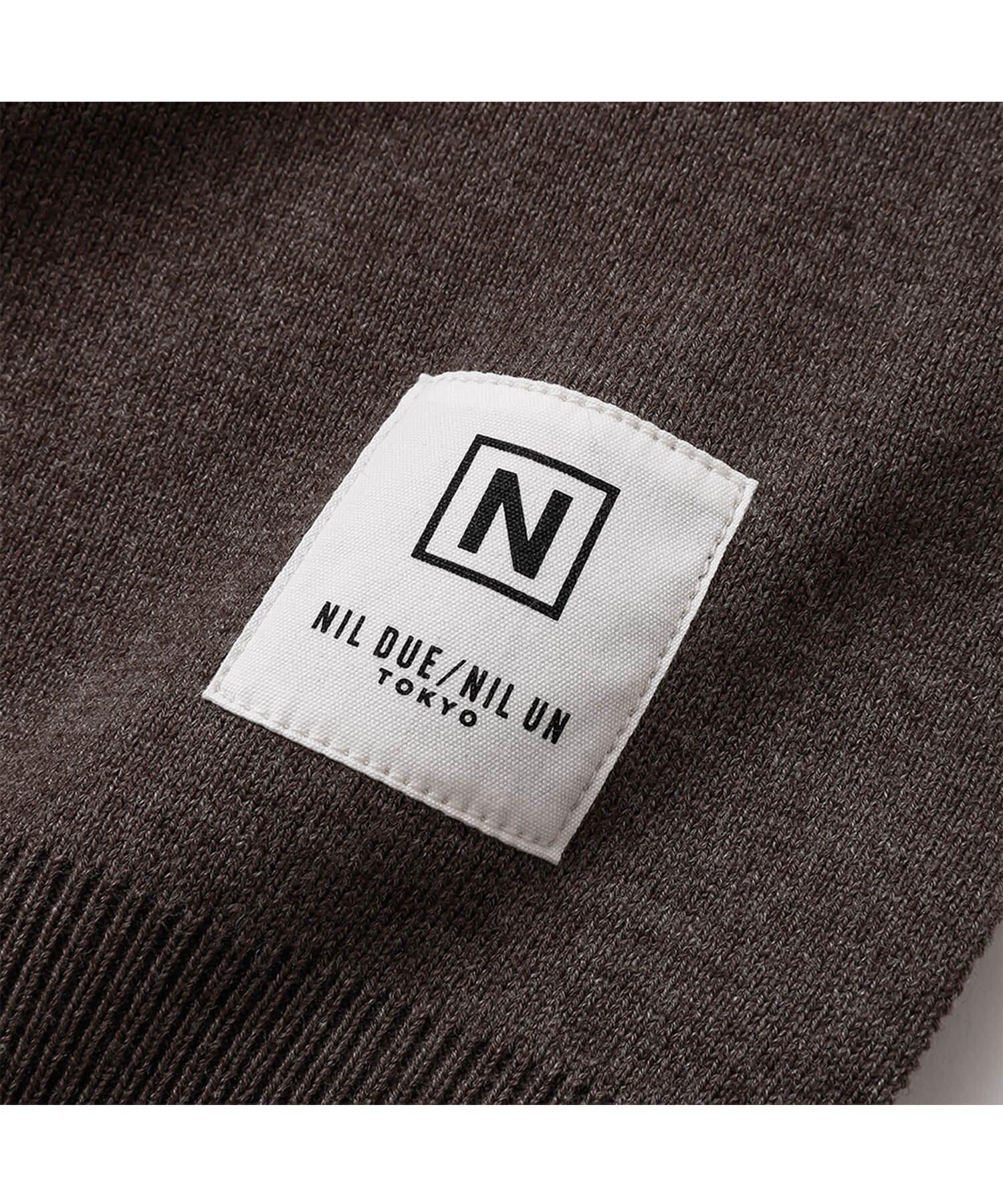 NIL DUE / NIL UN TOKYO / ニル デュエ / ニル アン トーキョー   RIB KNIT LOUNGE SET (BROWN) 商品画像5