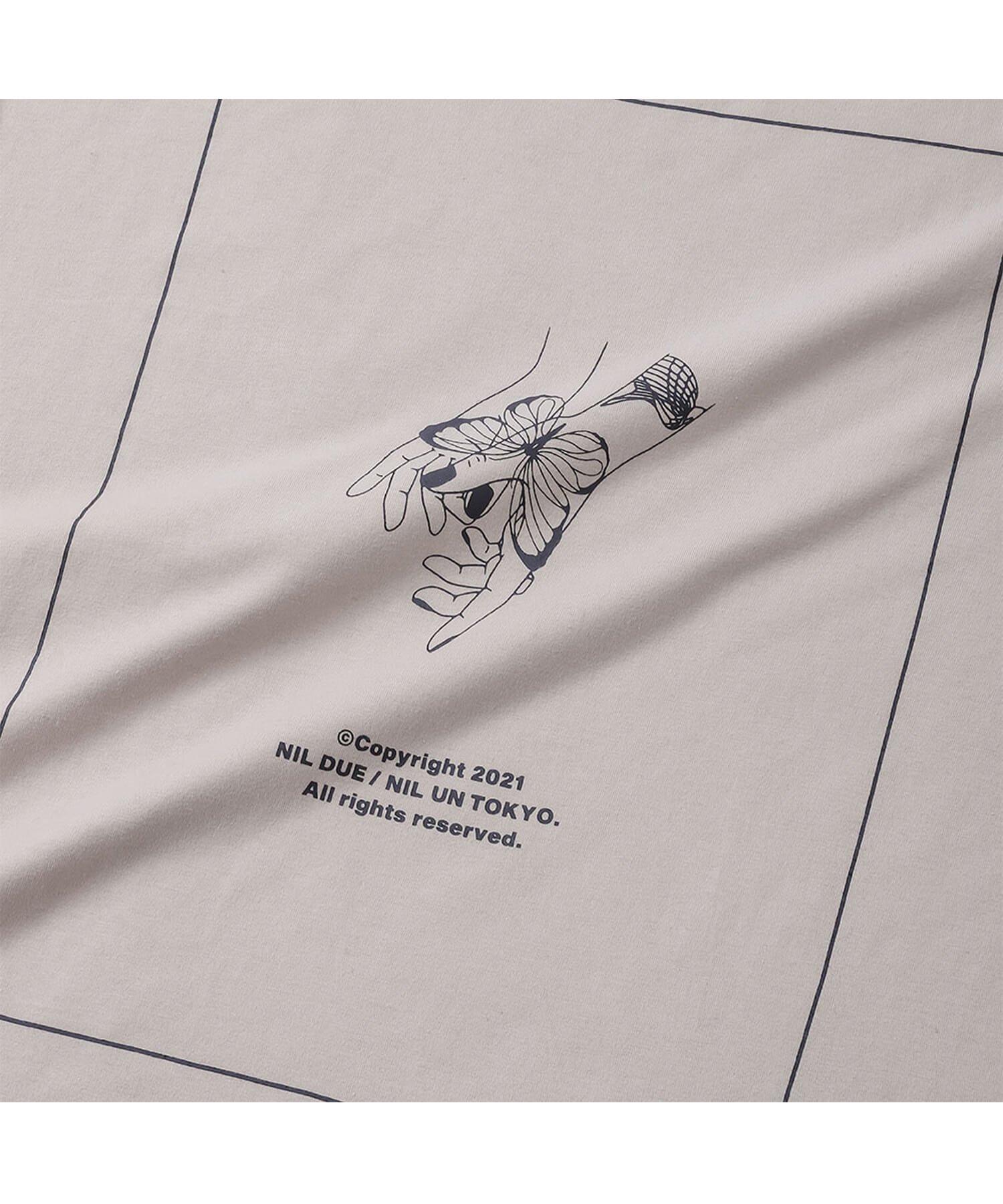 NIL DUE / NIL UN TOKYO / ニル デュエ / ニル アン トーキョー | LONG SLEEVE TATTOO TEE (OATMEAL) 商品画像2