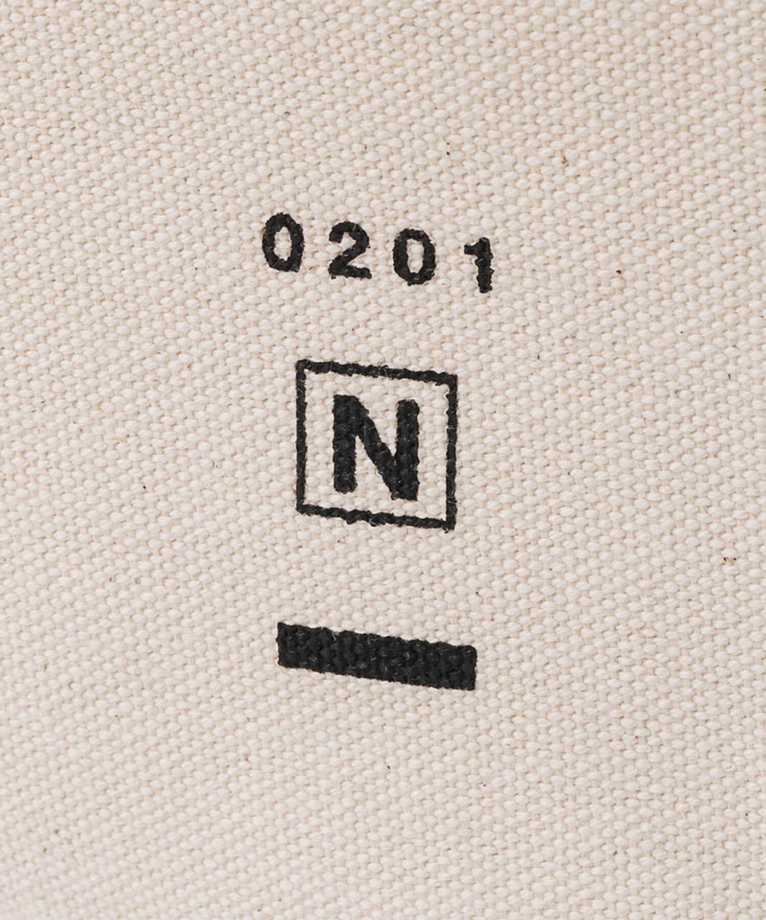 NIL DUE / NIL UN TOKYO / ニル デュエ / ニル アン トーキョー | CANVAS LEATHER TOTE (BROWN) 商品画像3