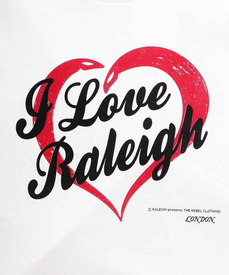 "RALEIGH / ラリー(RED MOTEL / レッドモーテル) | I LOVE RALEIGH ""ラリーはくせ者"" TV SHOW T-SHIRTS (WH) 商品画像2"