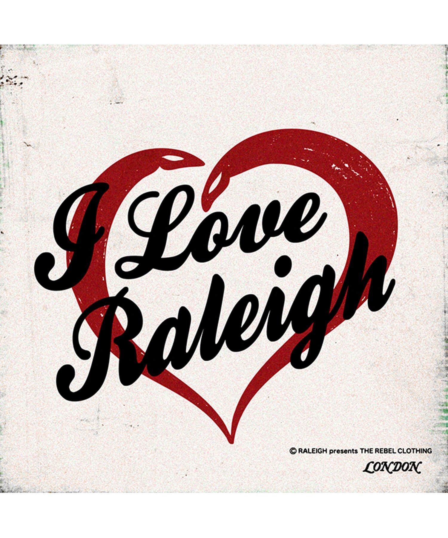 "RALEIGH / ラリー(RED MOTEL / レッドモーテル) | I LOVE RALEIGH ""ラリーはくせ者"" TV SHOW T-SHIRTS (WH) 商品画像4"