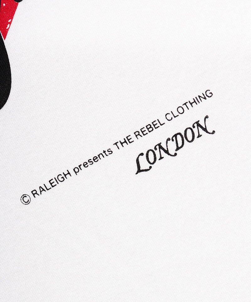 "RALEIGH / ラリー(RED MOTEL / レッドモーテル) | I LOVE RALEIGH ""ラリーはくせ者"" TV SHOW T-SHIRTS (WH) 商品画像5"