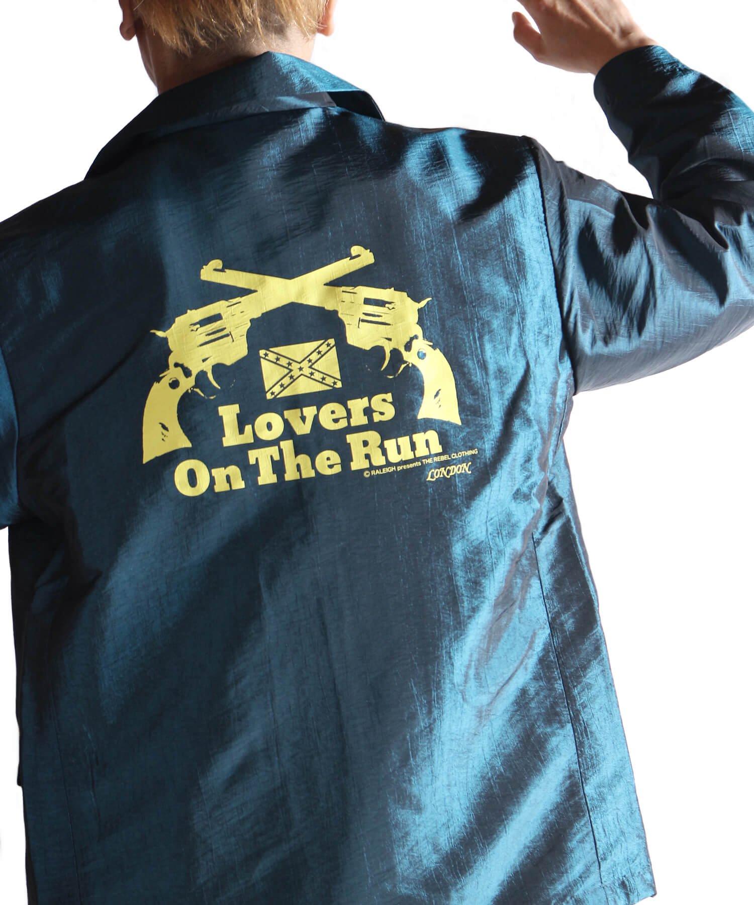 "RALEIGH / ラリー(RED MOTEL / レッドモーテル)   LOVERS ON THE RUN ""刹那な恋人たち"" MOVIE JACKET (Mid-Summer Ver.GN) 商品画像26"