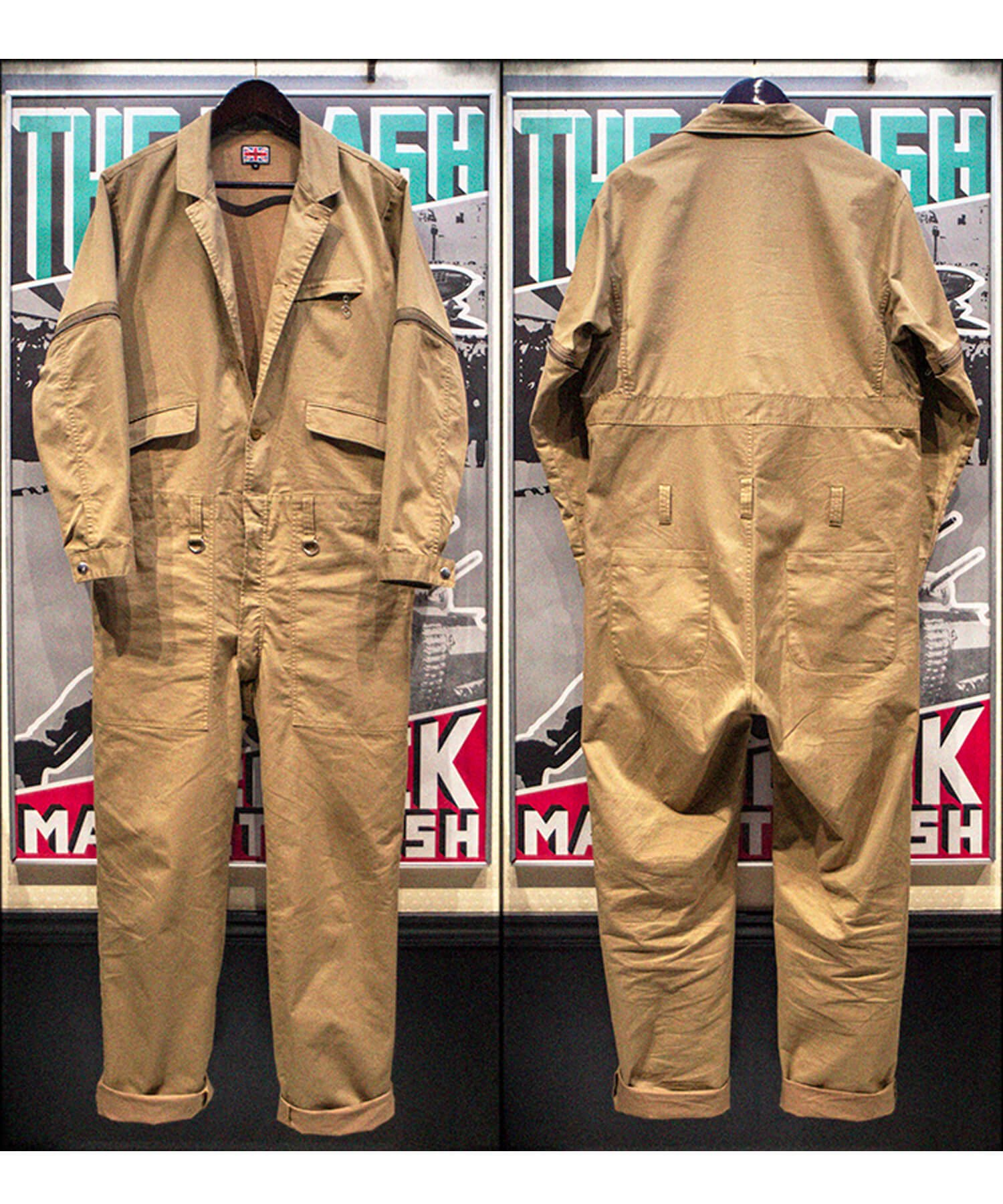 """RALEIGH / ラリー(RED MOTEL / レッドモーテル)   """"TAKE A WALK ON THE WILD SIDE"""" TAILORED BOILERSUITS (KB) 商品画像15"""