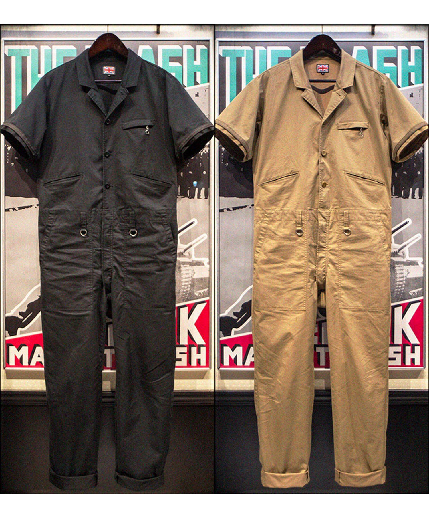 """RALEIGH / ラリー(RED MOTEL / レッドモーテル)   """"TAKE A WALK ON THE WILD SIDE"""" TAILORED BOILERSUITS (KB) 商品画像16"""