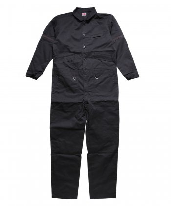 """RALEIGH / ラリー(RED MOTEL / レッドモーテル) /  """"TAKE A WALK ON THE WILD SIDE"""" TAILORED BOILERSUITS (BK)"""