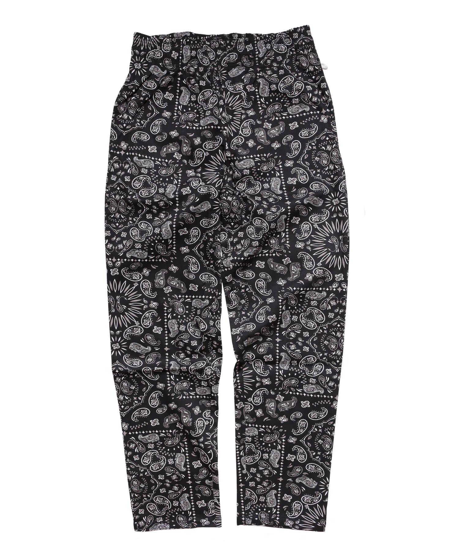 COOKMAN / クックマン    WAITER'S PANTS (PAISLEY BLACK):ウェイターズパンツ 商品画像
