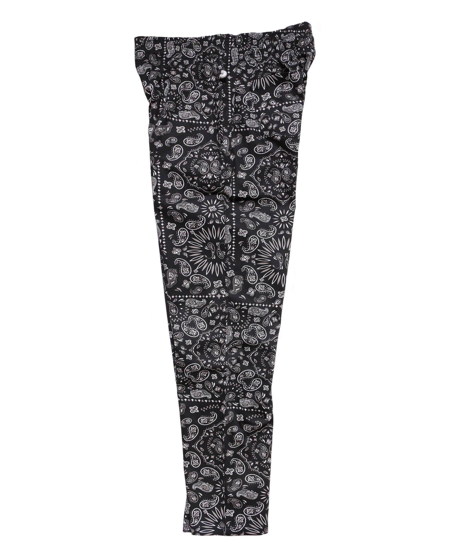 COOKMAN / クックマン   WAITER'S PANTS (PAISLEY BLACK):ウェイターズパンツ 商品画像1