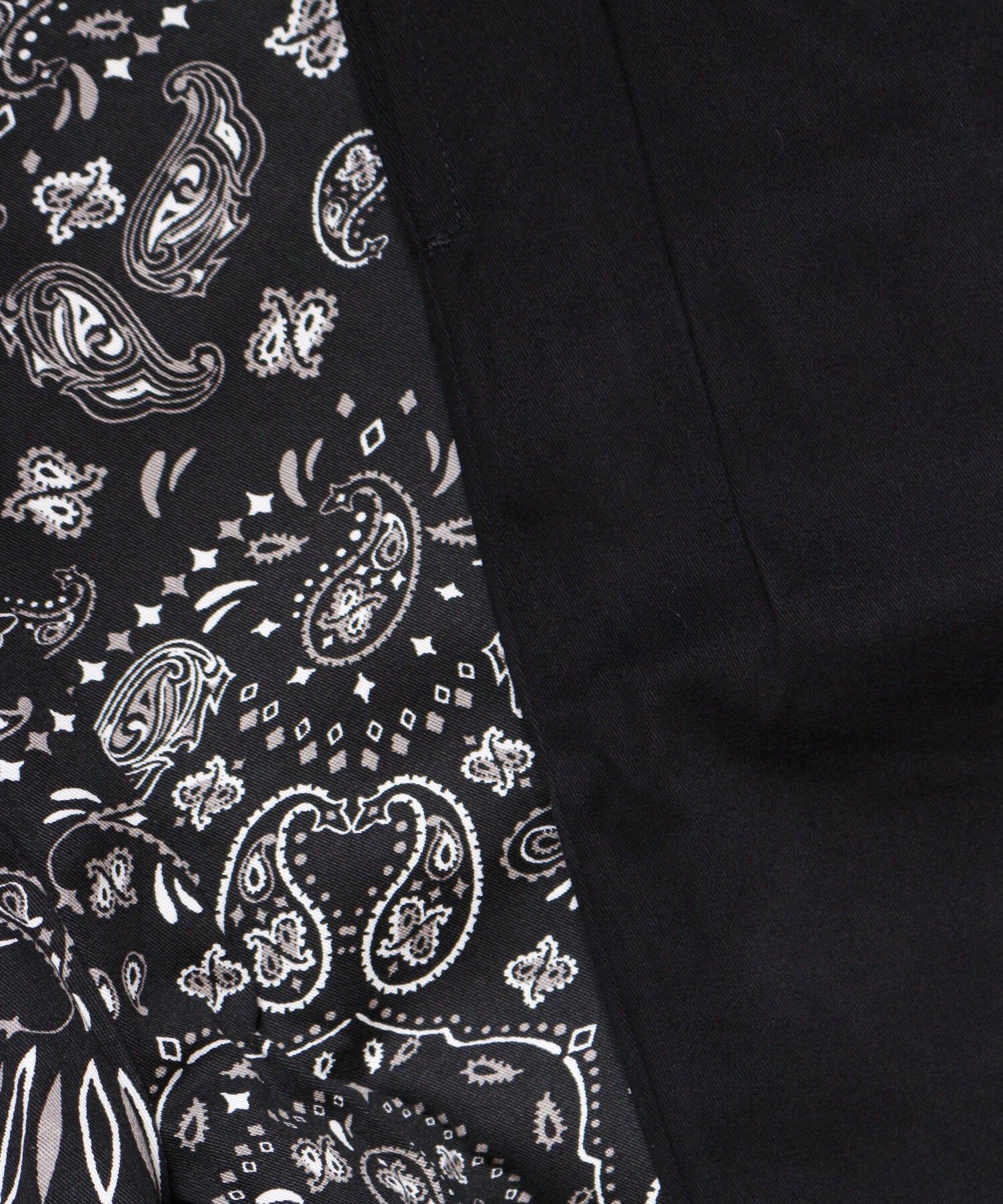 COOKMAN / クックマン   WAITER'S PANTS (PAISLEY BLACK):ウェイターズパンツ 商品画像10