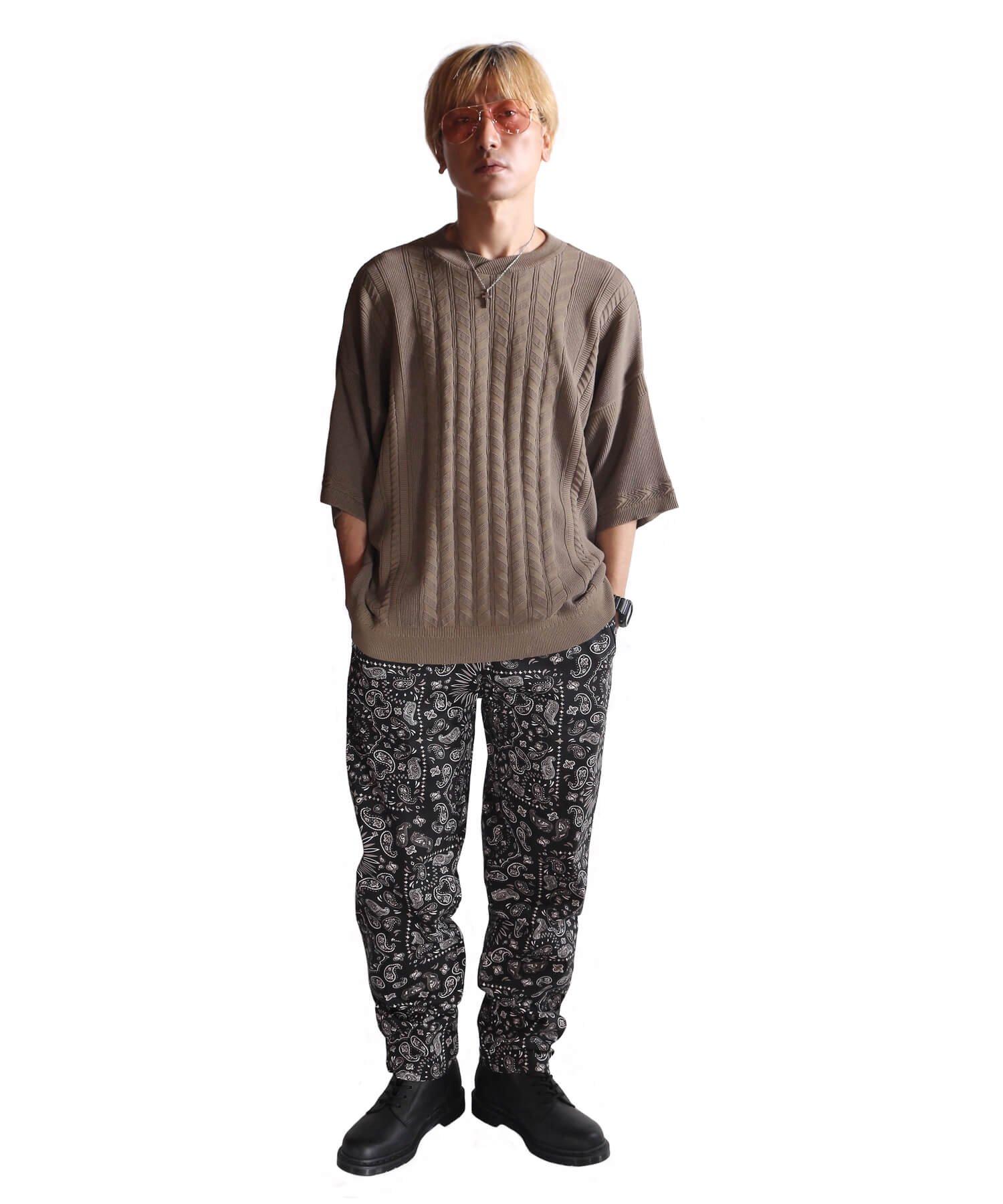 COOKMAN / クックマン   WAITER'S PANTS (PAISLEY BLACK):ウェイターズパンツ 商品画像11