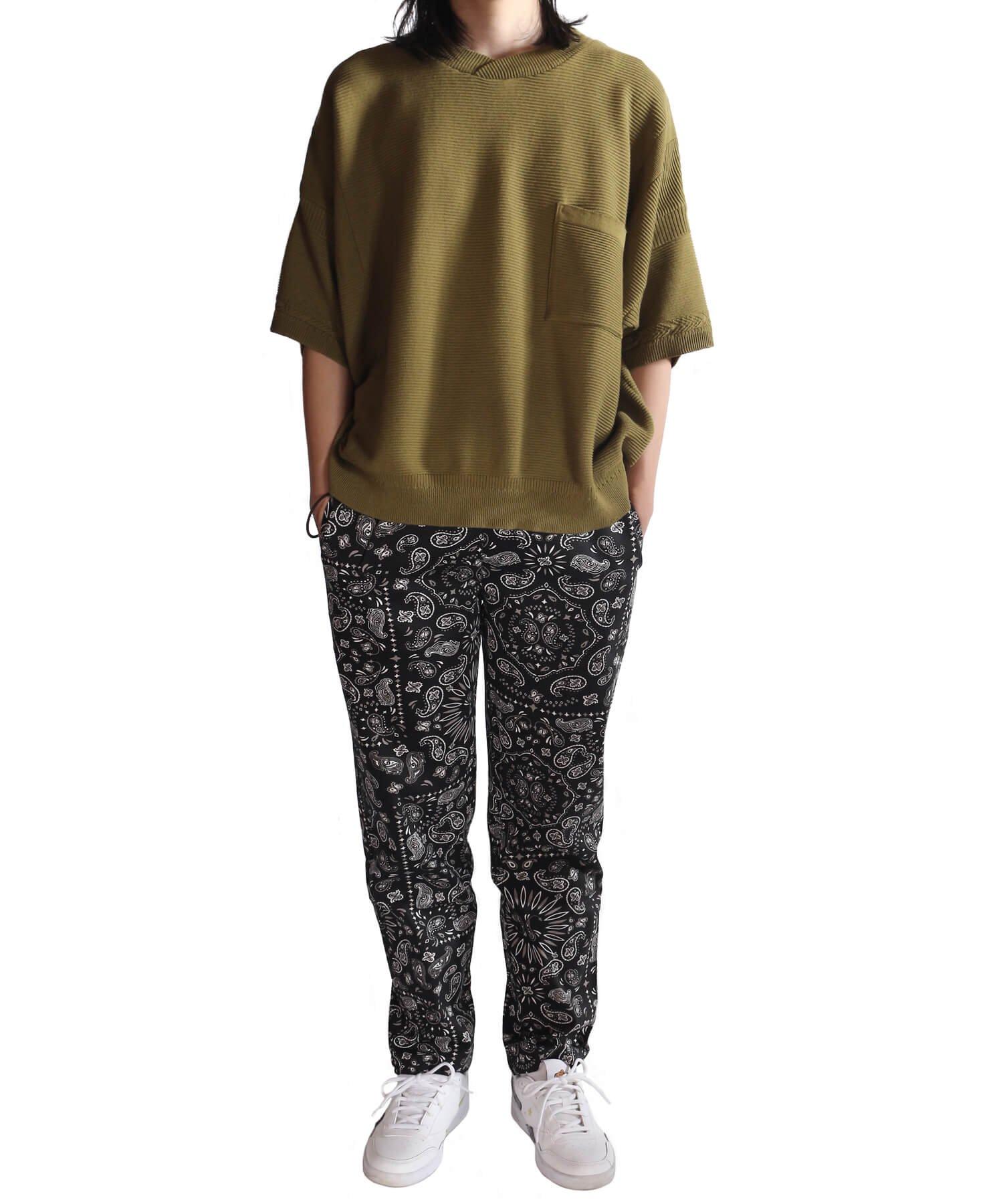 COOKMAN / クックマン   WAITER'S PANTS (PAISLEY BLACK):ウェイターズパンツ 商品画像14
