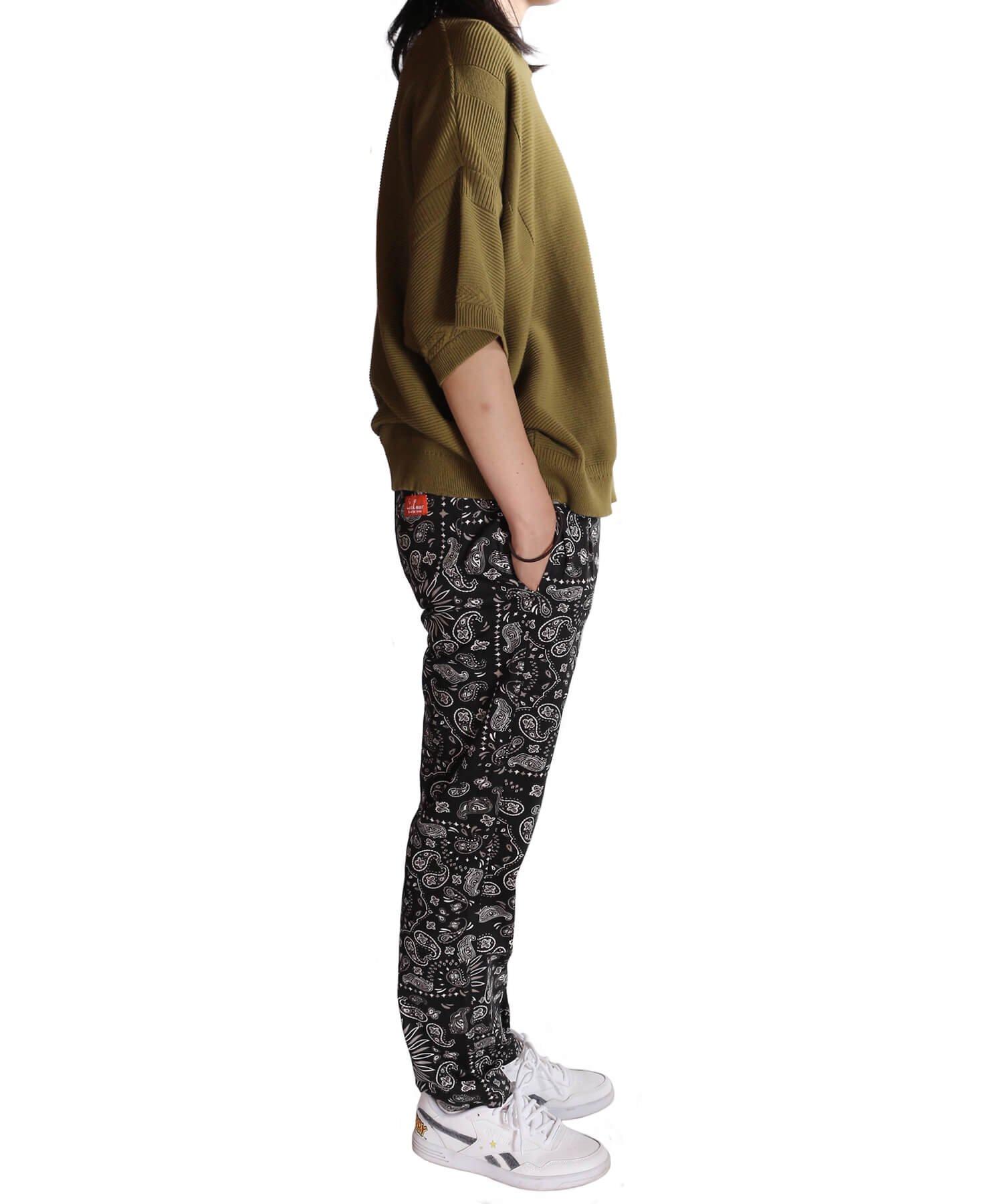COOKMAN / クックマン   WAITER'S PANTS (PAISLEY BLACK):ウェイターズパンツ 商品画像15