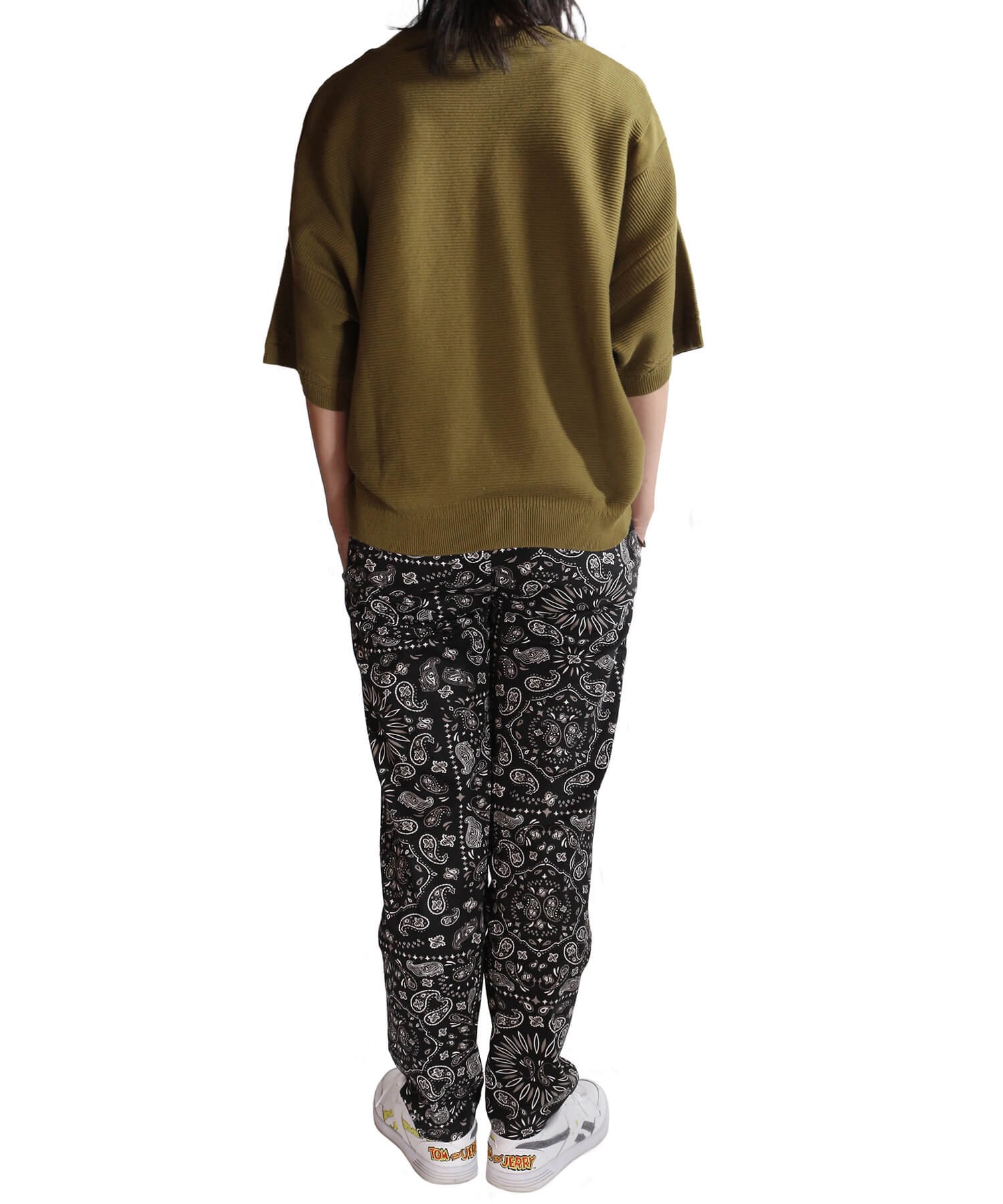 COOKMAN / クックマン   WAITER'S PANTS (PAISLEY BLACK):ウェイターズパンツ 商品画像16