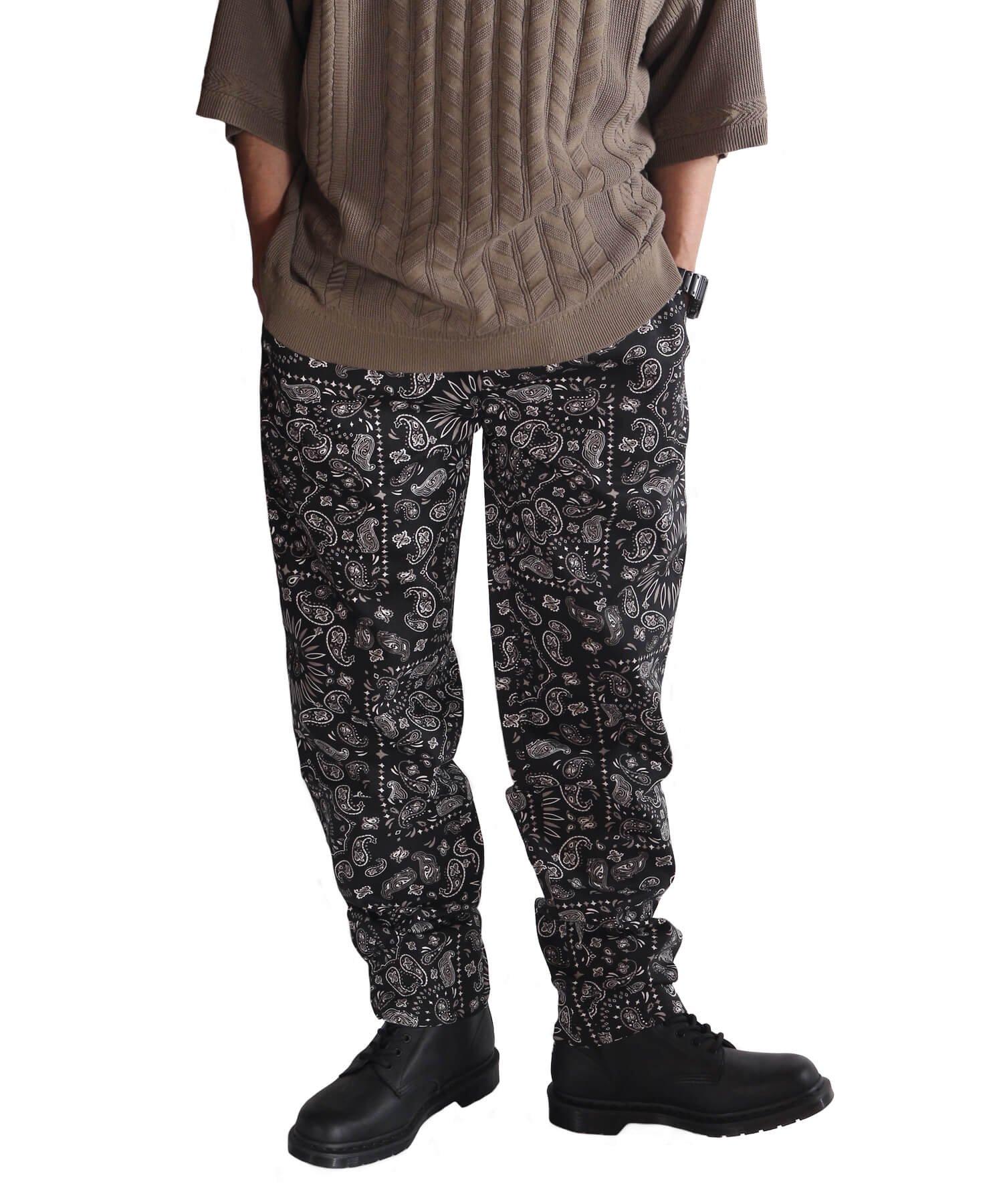 COOKMAN / クックマン   WAITER'S PANTS (PAISLEY BLACK):ウェイターズパンツ 商品画像17