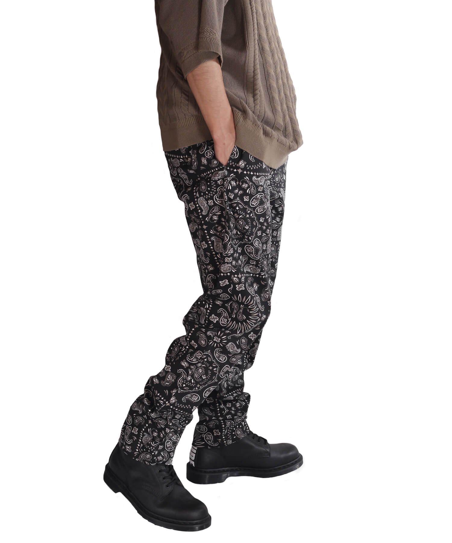 COOKMAN / クックマン   WAITER'S PANTS (PAISLEY BLACK):ウェイターズパンツ 商品画像18