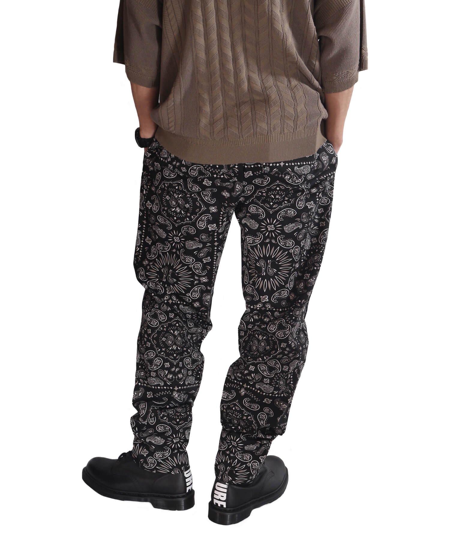 COOKMAN / クックマン   WAITER'S PANTS (PAISLEY BLACK):ウェイターズパンツ 商品画像19