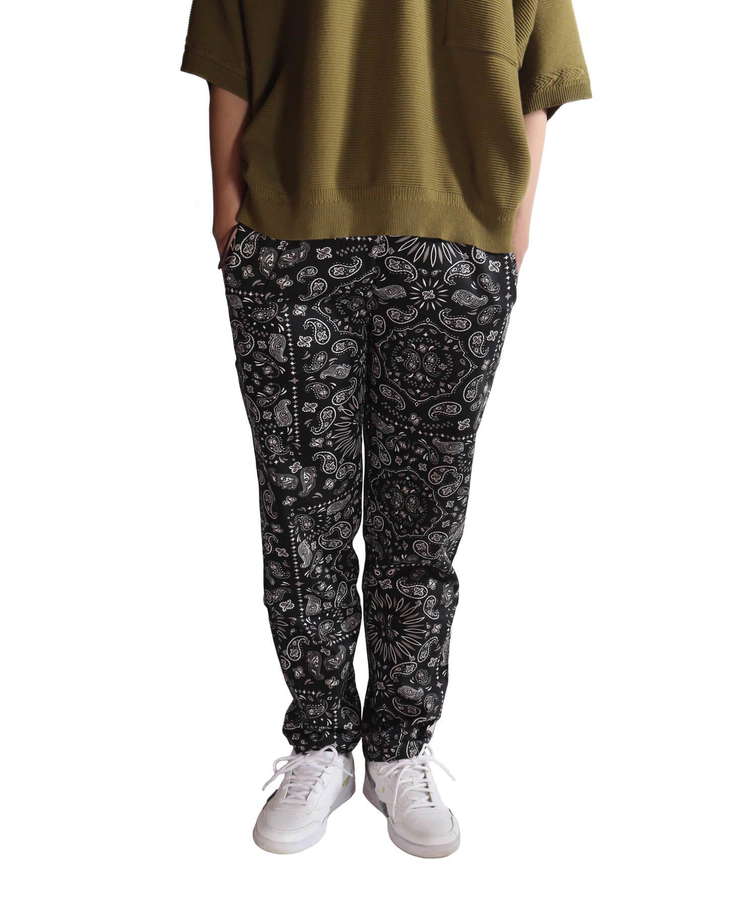 COOKMAN / クックマン   WAITER'S PANTS (PAISLEY BLACK):ウェイターズパンツ 商品画像20