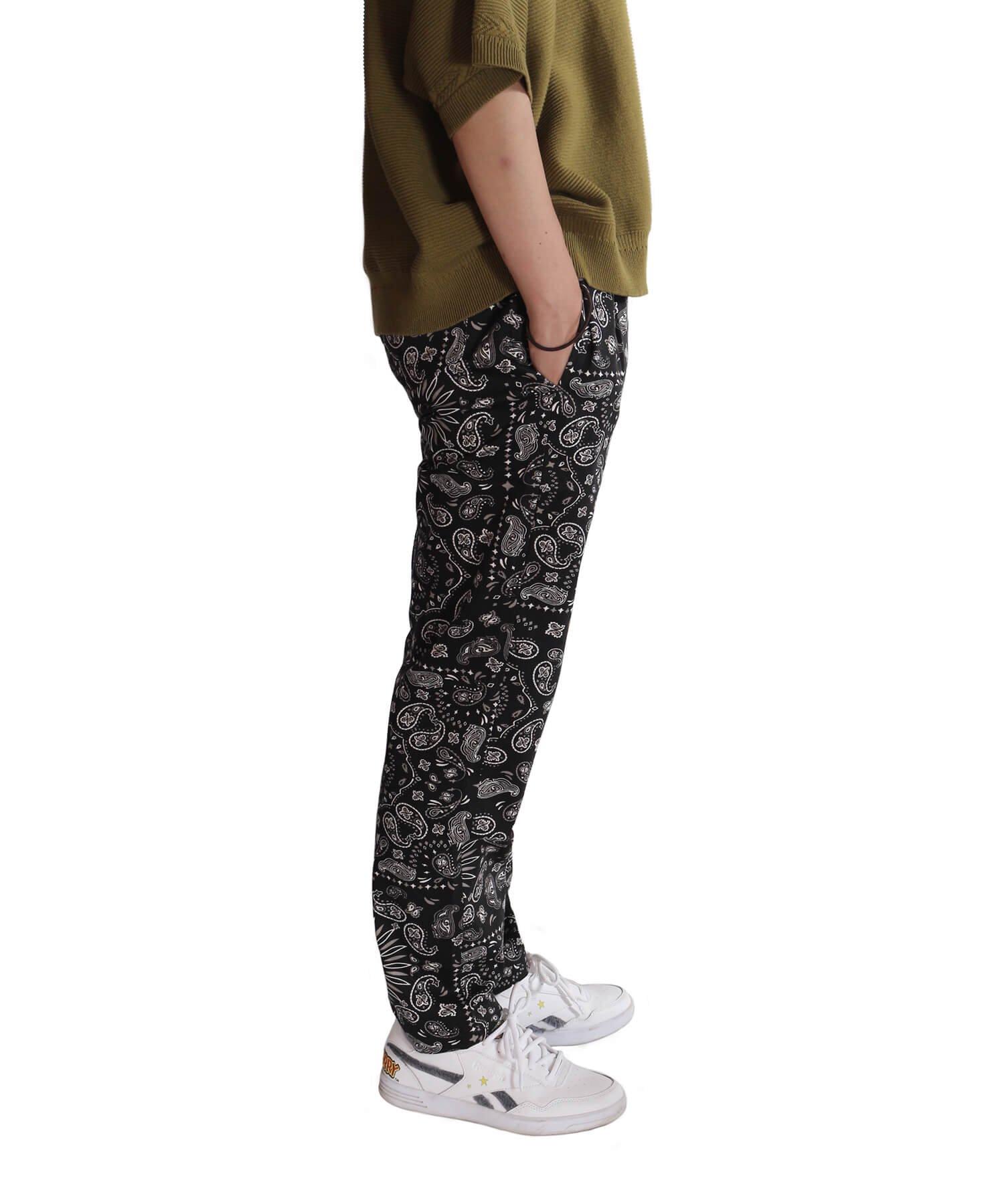 COOKMAN / クックマン   WAITER'S PANTS (PAISLEY BLACK):ウェイターズパンツ 商品画像21