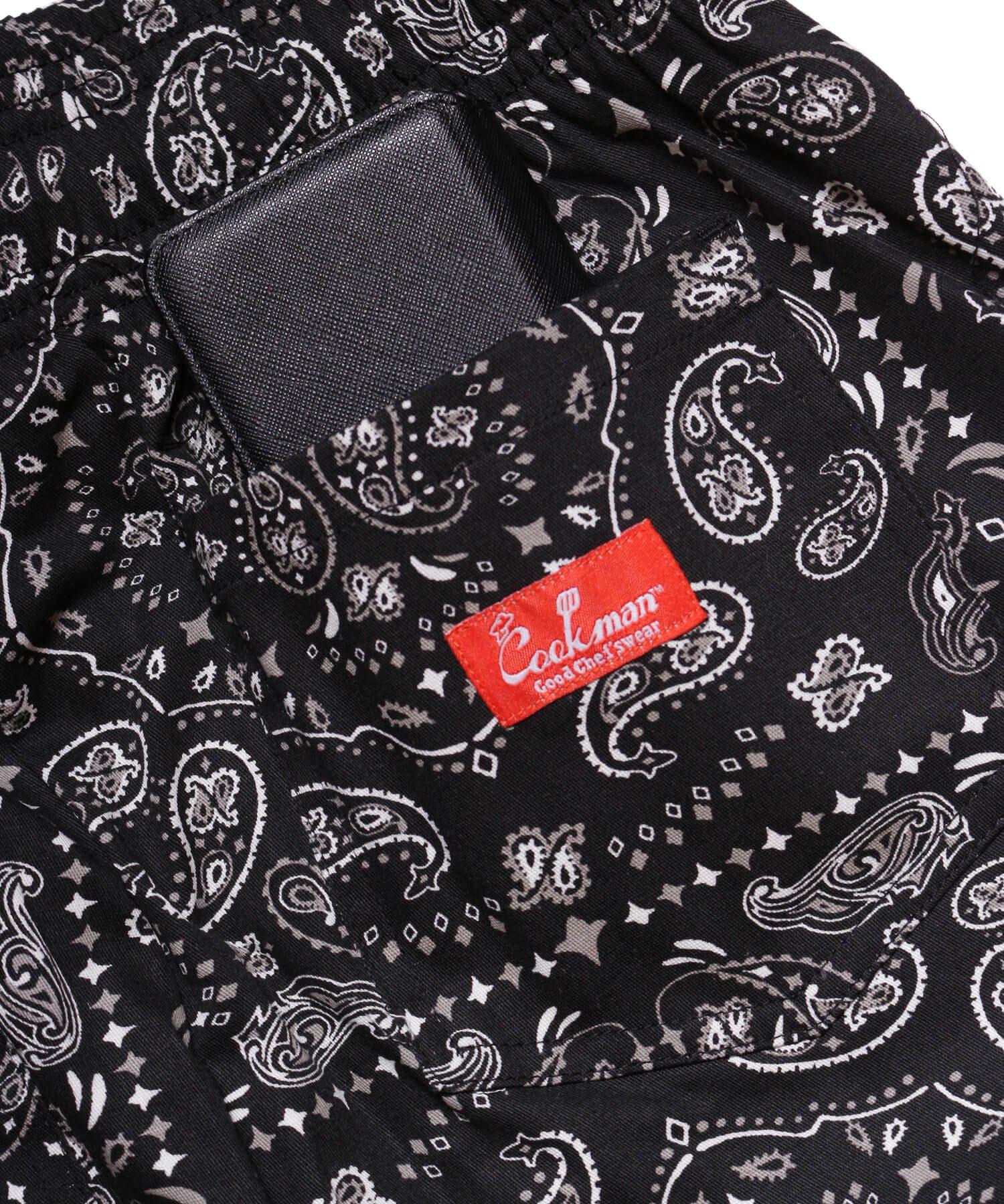 COOKMAN / クックマン   WAITER'S PANTS (PAISLEY BLACK):ウェイターズパンツ 商品画像5