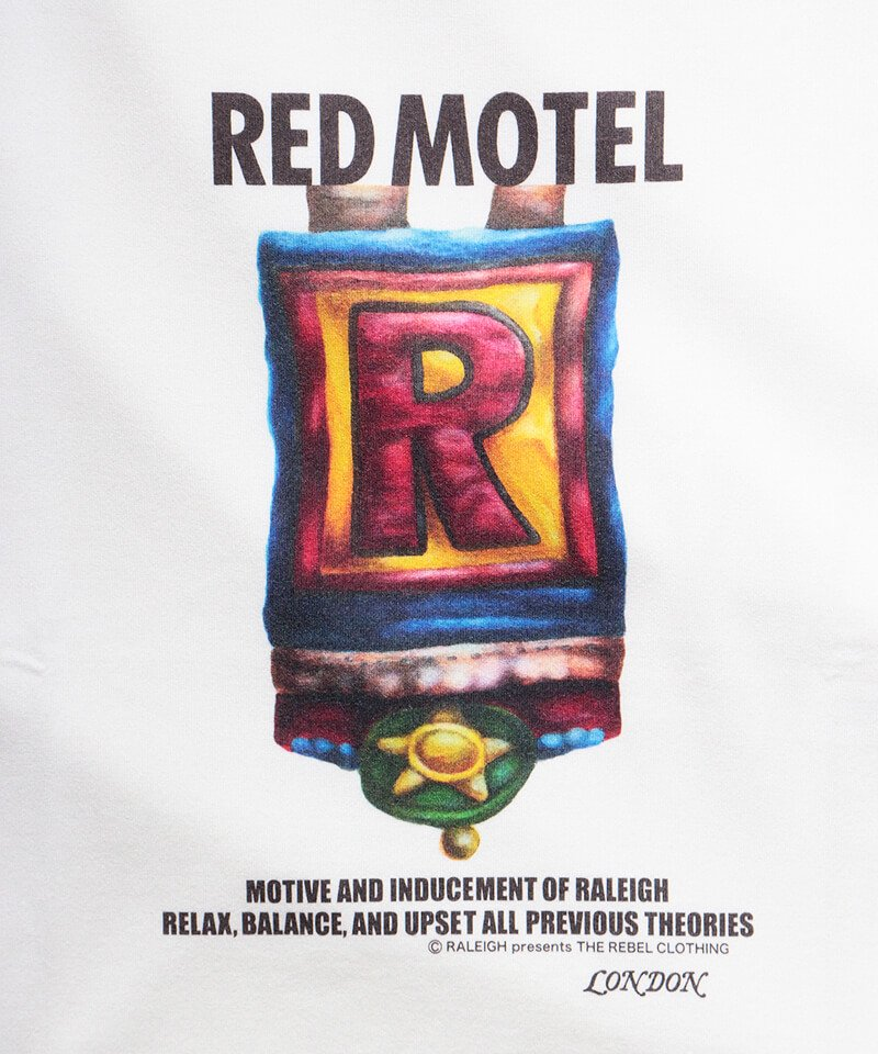 "RALEIGH / ラリー(RED MOTEL / レッドモーテル) | Symbolic of REDMOTEL ""ア〜ルの紋章"" Red MOTE… (2021 Ver.WH) 商品画像2"