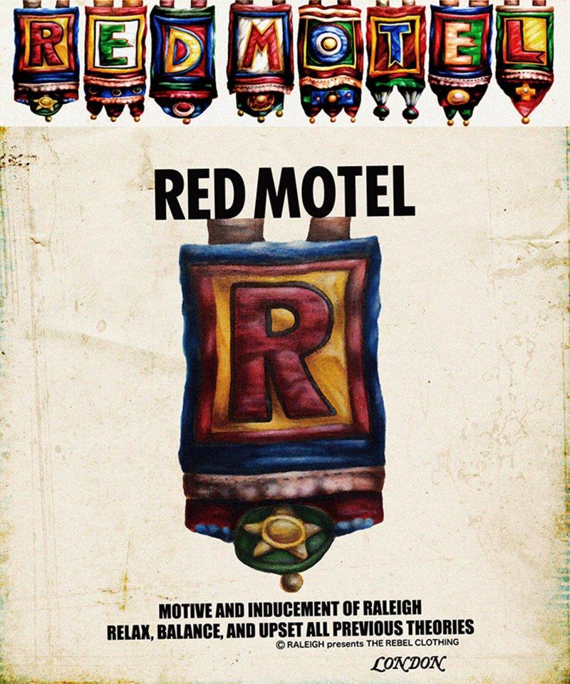 "RALEIGH / ラリー(RED MOTEL / レッドモーテル) | Symbolic of REDMOTEL ""ア〜ルの紋章"" Red MOTE… (2021 Ver.WH) 商品画像5"