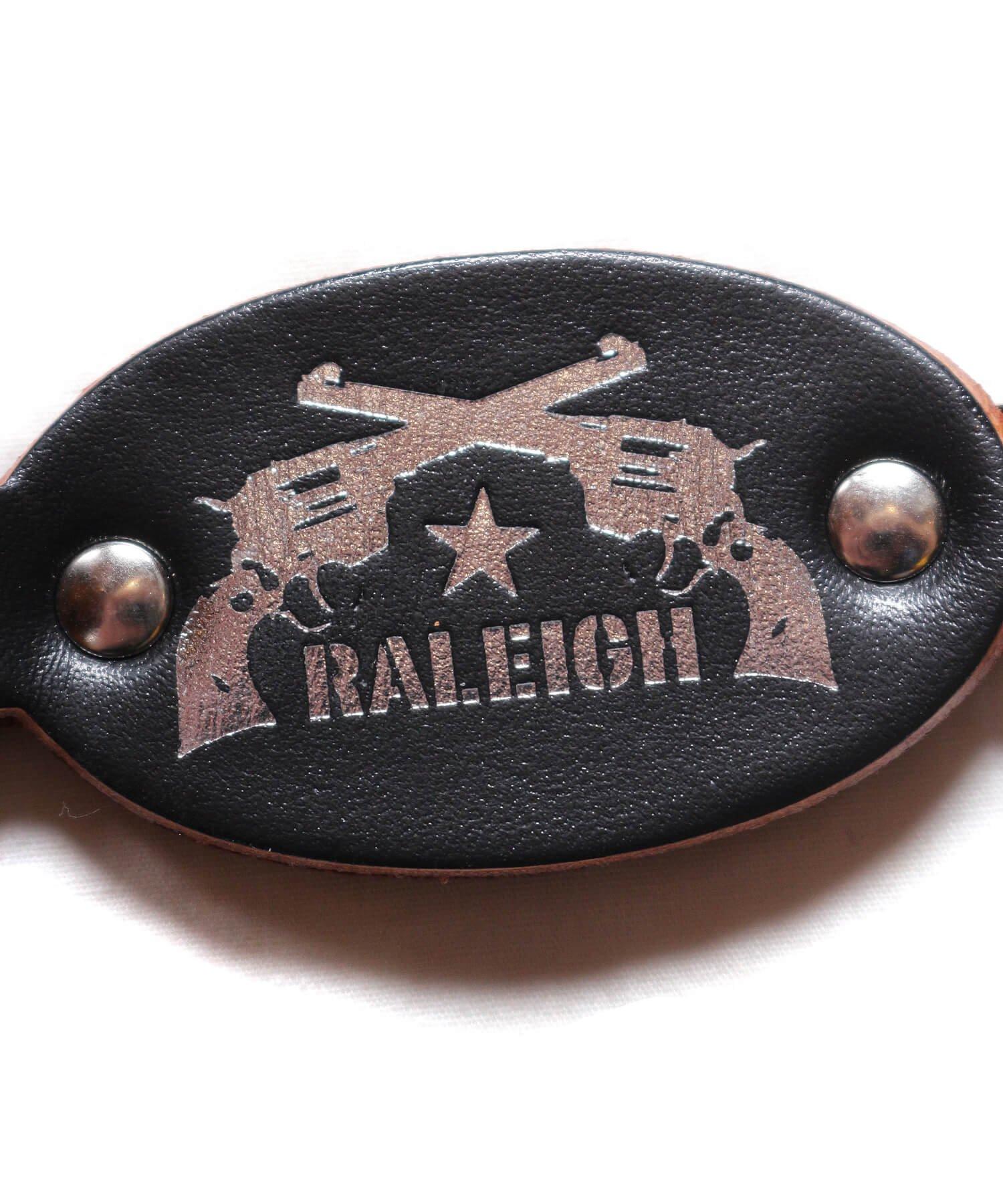 "RALEIGH / ラリー(RED MOTEL / レッドモーテル) | Symbolic of RALEIGH ""44口径"" LEATHER KEY STRAP *キーストラップ単品 商品画像2"