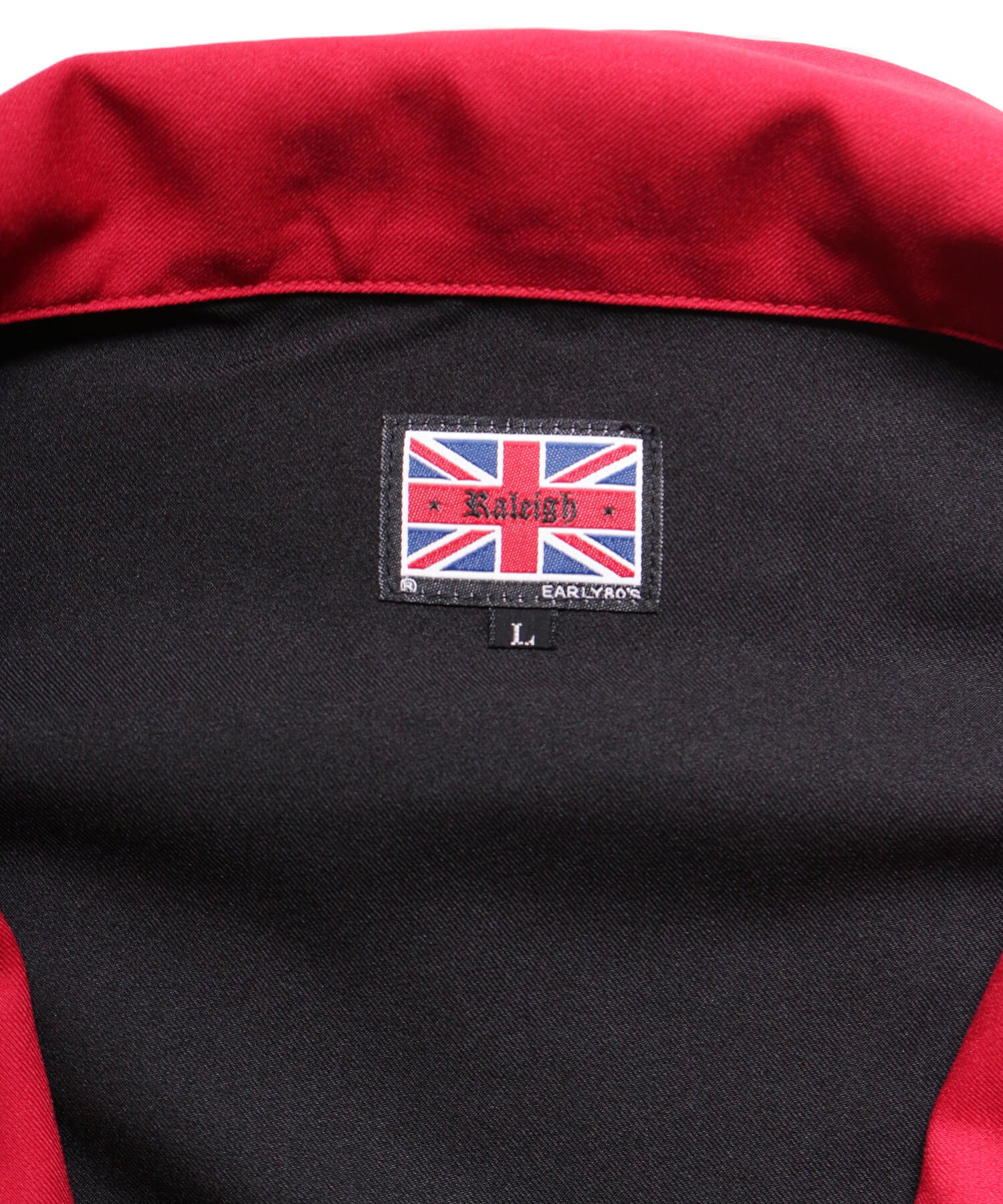 "RALEIGH / ラリー(RED MOTEL / レッドモーテル) | ""英国式甚平"" TEDDY BOY SUMMER JACKET & TROUSERS (BK×RD) 商品画像9"