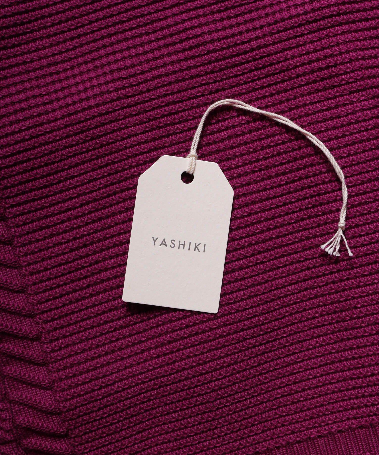 YASHIKI / ヤシキ  YASHIKI / ヤシキ × SIDEMILITIA inc. / サイドミリティア  SHIGURE CARDIGAN (LIMITED PURPLE/WOMEN'S) 商品画像12