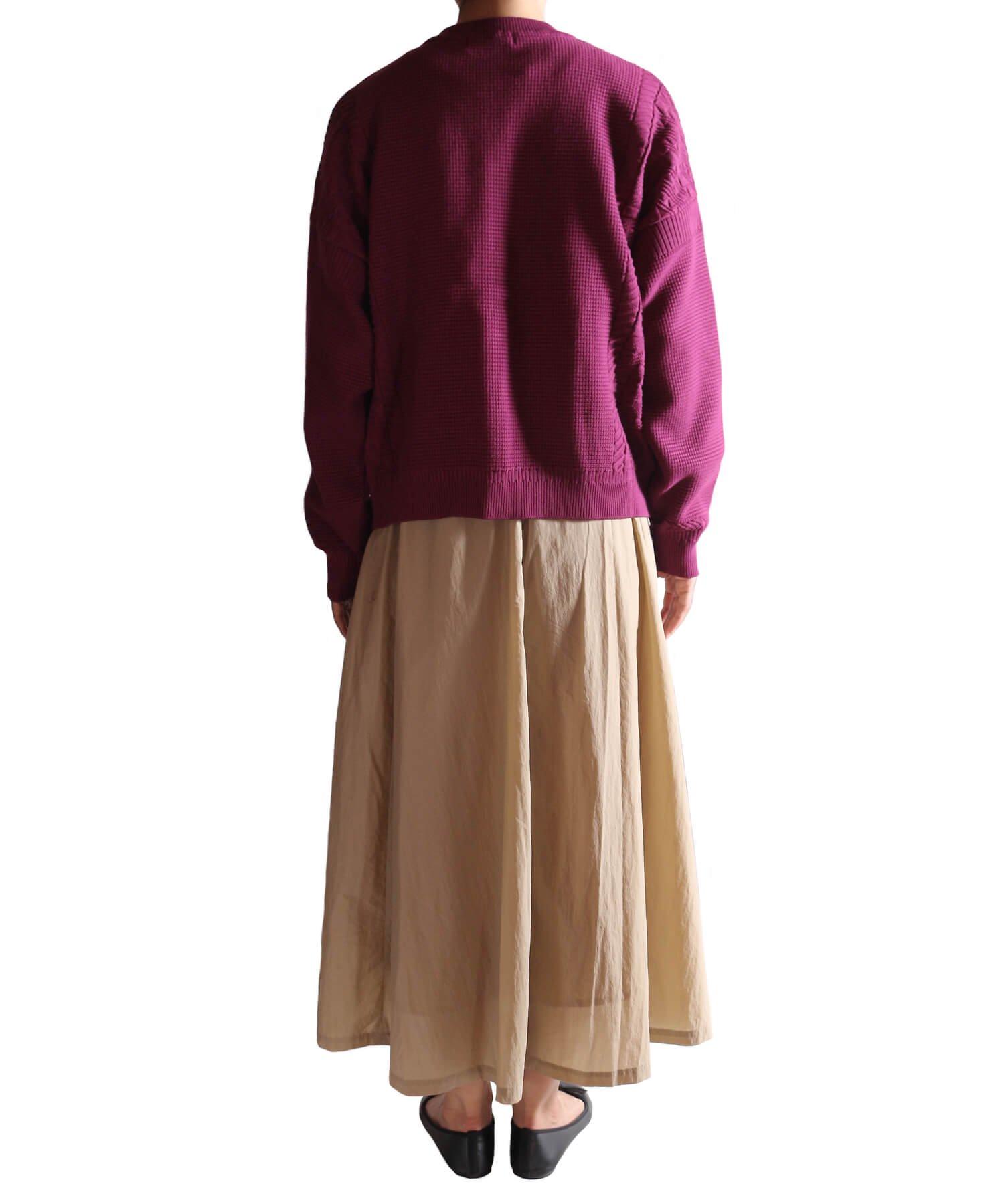 YASHIKI / ヤシキ  YASHIKI / ヤシキ × SIDEMILITIA inc. / サイドミリティア  SHIGURE CARDIGAN (LIMITED PURPLE/WOMEN'S) 商品画像17