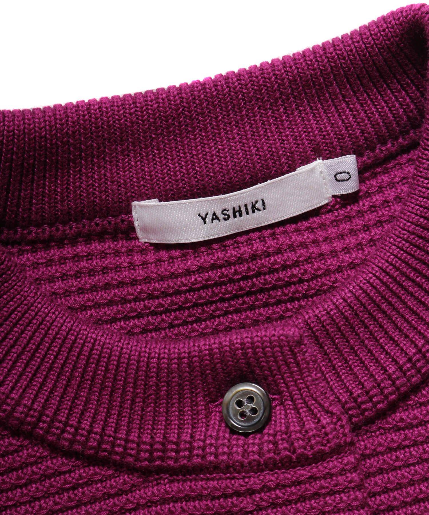 YASHIKI / ヤシキ  YASHIKI / ヤシキ × SIDEMILITIA inc. / サイドミリティア  SHIGURE CARDIGAN (LIMITED PURPLE/WOMEN'S) 商品画像5