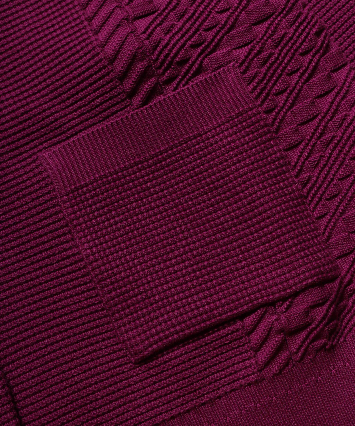 YASHIKI / ヤシキ  YASHIKI / ヤシキ × SIDEMILITIA inc. / サイドミリティア  SHIGURE CARDIGAN (LIMITED PURPLE/WOMEN'S) 商品画像8