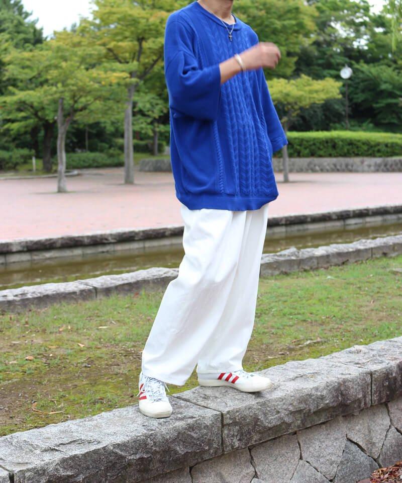 STYLE / スタイル  SAYATOMO / HAKAMA AKANE PANTS (WHITE)商品画像6