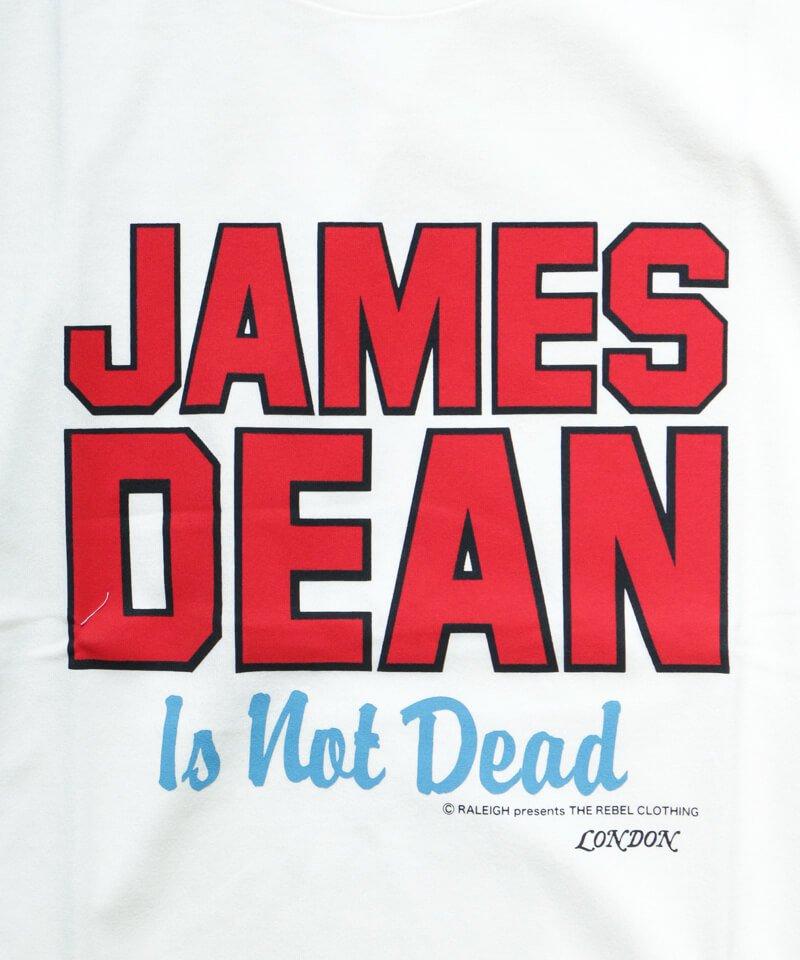 RALEIGH / ラリー(RED MOTEL / レッドモーテル)  JAMES DEAN IS NOT DEAD (邦題: このままじゃ終われない) MOVIE T-SHIRTS (WHITE)商品画像2