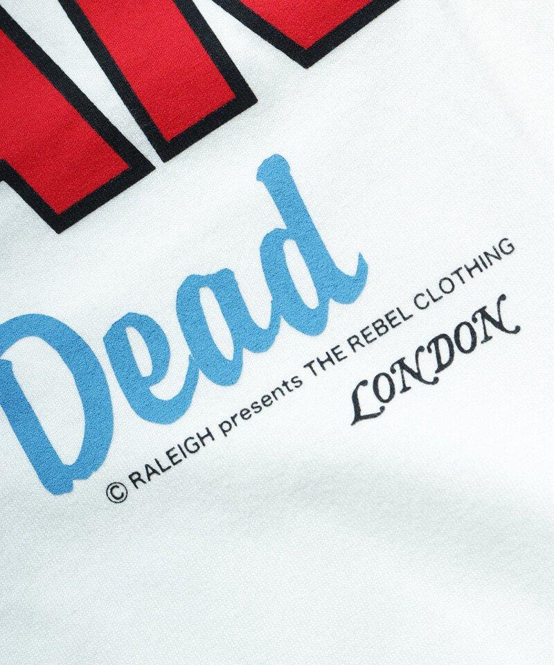 RALEIGH / ラリー(RED MOTEL / レッドモーテル)  JAMES DEAN IS NOT DEAD (邦題: このままじゃ終われない) MOVIE T-SHIRTS (WHITE)商品画像3