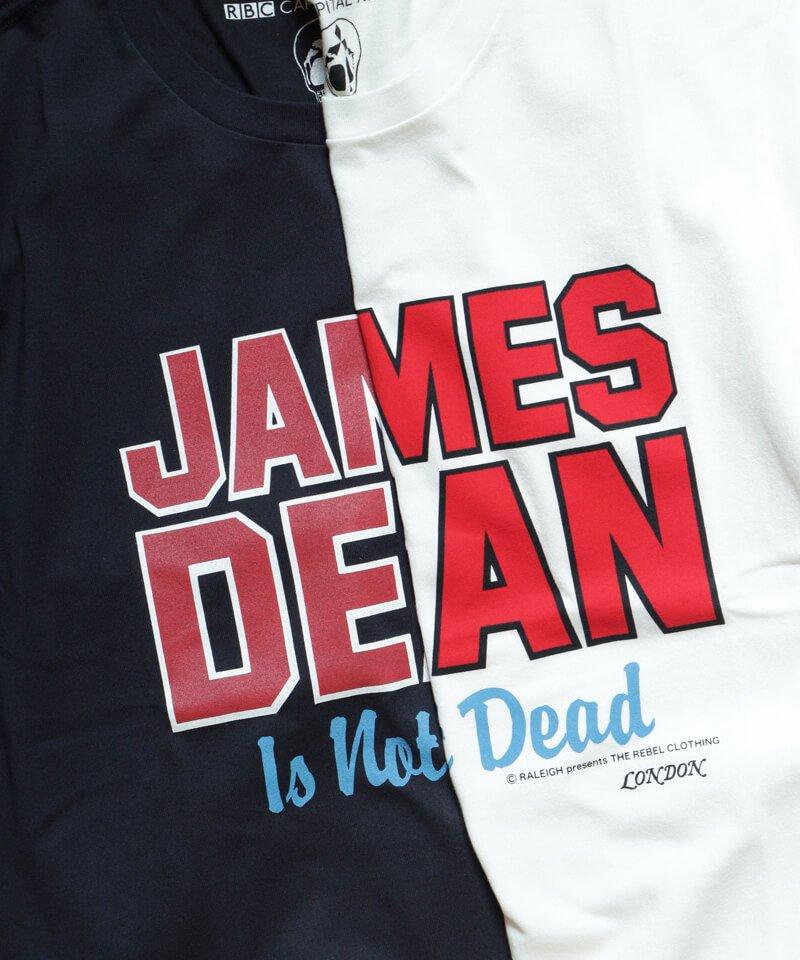 RALEIGH / ラリー(RED MOTEL / レッドモーテル)  JAMES DEAN IS NOT DEAD (邦題: このままじゃ終われない) MOVIE T-SHIRTS (WHITE)商品画像6