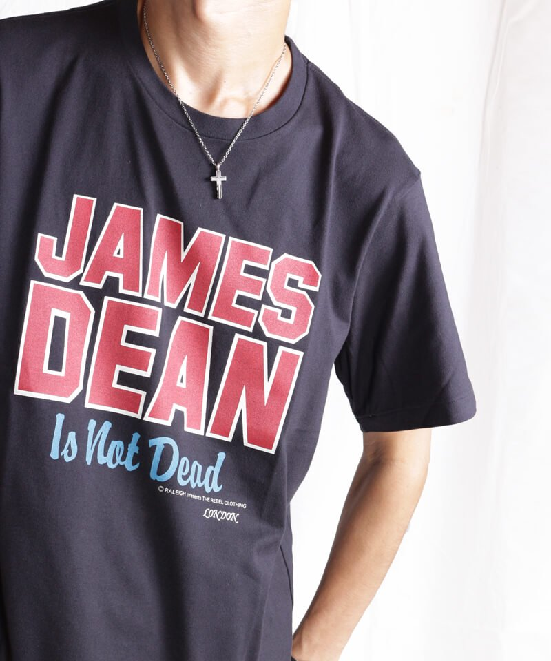 RALEIGH / ラリー(RED MOTEL / レッドモーテル) |JAMES DEAN IS NOT DEAD (邦題: このままじゃ終われない) MOVIE T-SHIRTS (BLACK)商品画像10