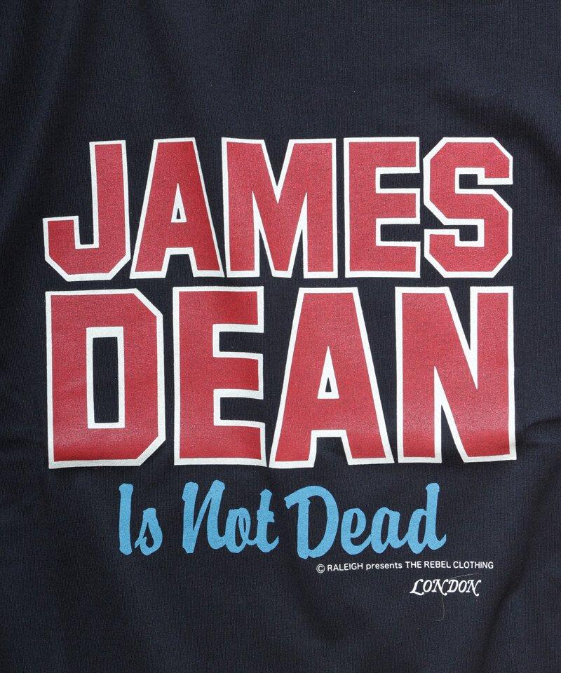 RALEIGH / ラリー(RED MOTEL / レッドモーテル) |JAMES DEAN IS NOT DEAD (邦題: このままじゃ終われない) MOVIE T-SHIRTS (BLACK)商品画像2