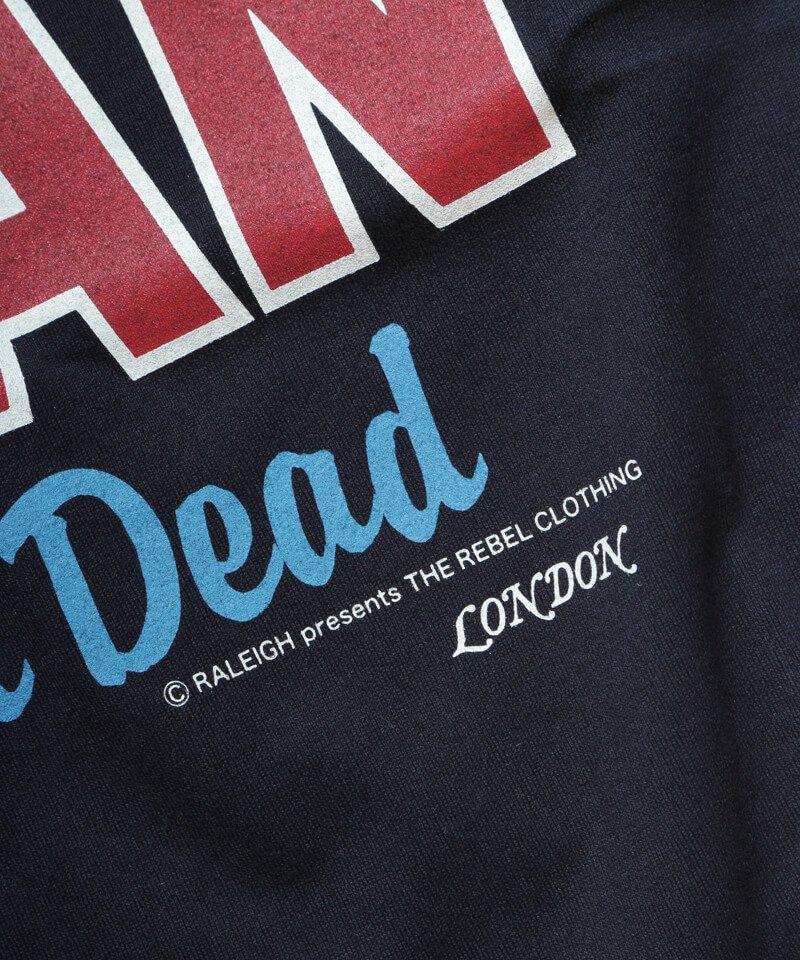 RALEIGH / ラリー(RED MOTEL / レッドモーテル) |JAMES DEAN IS NOT DEAD (邦題: このままじゃ終われない) MOVIE T-SHIRTS (BLACK)商品画像3