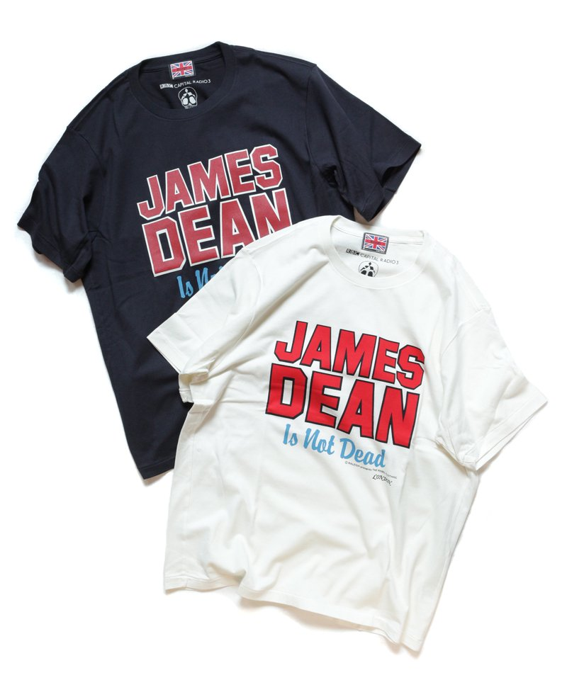 RALEIGH / ラリー(RED MOTEL / レッドモーテル) |JAMES DEAN IS NOT DEAD (邦題: このままじゃ終われない) MOVIE T-SHIRTS (BLACK)商品画像5