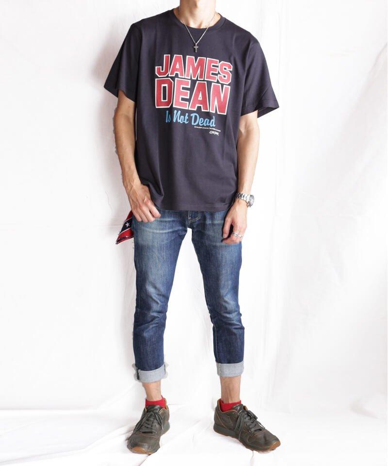 RALEIGH / ラリー(RED MOTEL / レッドモーテル) |JAMES DEAN IS NOT DEAD (邦題: このままじゃ終われない) MOVIE T-SHIRTS (BLACK)商品画像8