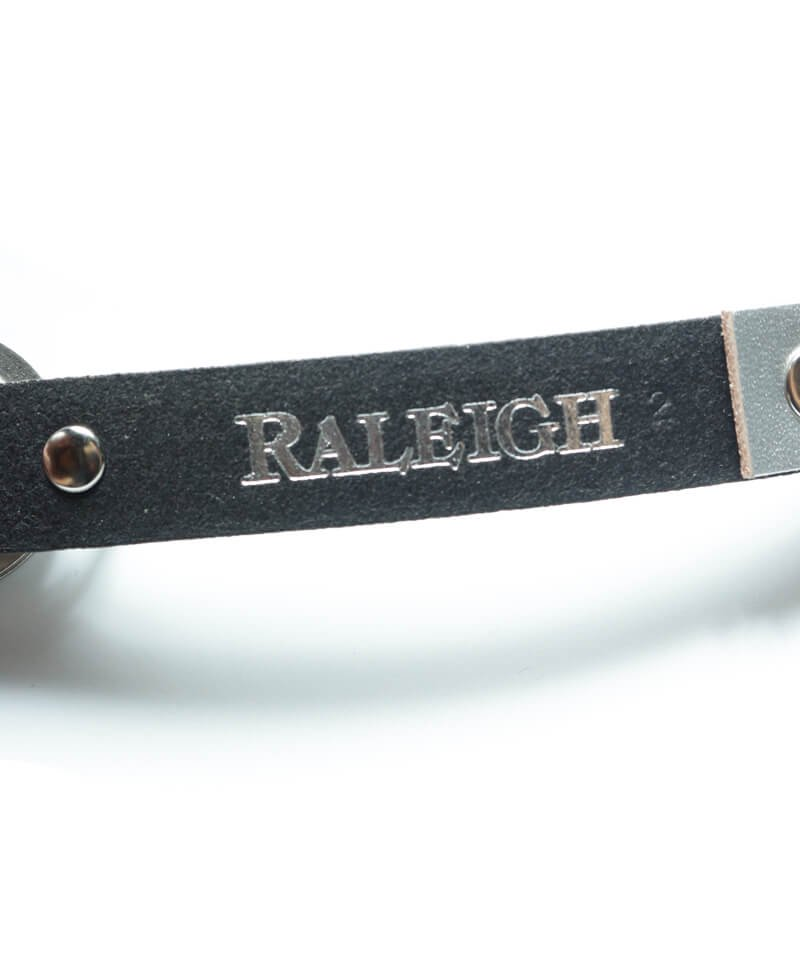 """RALEIGH / ラリー(RED MOTEL / レッドモーテル)  """"HANGING DOWN"""" LEATHER NARROW BELT (SPACE COWBOY MODEL / SILVER)商品画像4"""