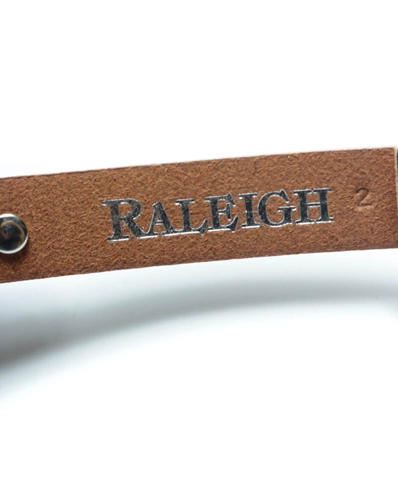 """RALEIGH / ラリー(RED MOTEL / レッドモーテル)  """"HANGING DOWN"""" LEATHER NARROW BELT (SPACE COWBOY MODEL / BLACK)商品画像4"""