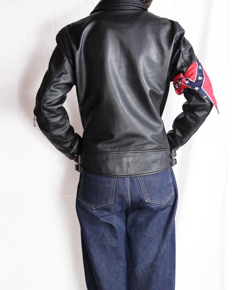 "RALEIGH / ラリー(RED MOTEL / レッドモーテル) |""44口径"" SINGLE LEATHER JACKET (2021 Ver. / BLACK)商品画像28"