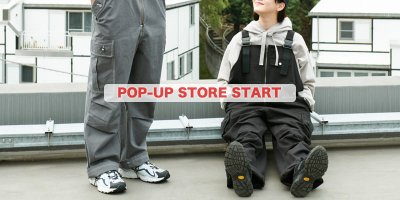 TOPIC - POP-UP STORE START