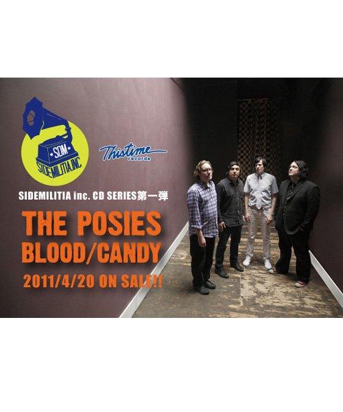 CD / DVD  THE POSIES / ポージーズ:BLOOD/CANDY+7 (日本盤CD) 商品画像1