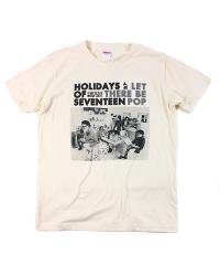 HOLIDAYS OF SEVENTEEN×SIDEMILITIA inc.<br>【 Let There Be Pop T-SHIRTS 】