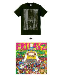 "FRIDAYZ×SIDEMILITIA inc.<br>【 ""HOPE"" CD+T-shirt SET 】"