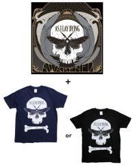 Official Artist Goods / バンドTなど / AS I LAY DYING×SIDEMILITIAinc.  AWAKENED limited set (T-SHIRT+CD)