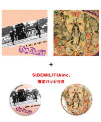 Official Artist Goods / バンドTなど / THE SHARKS+THE MIDWEST BEAT×SIDEMILITIA inc.  PUNKS OF BRIXTON+GONE NOT LOST+Badge SET